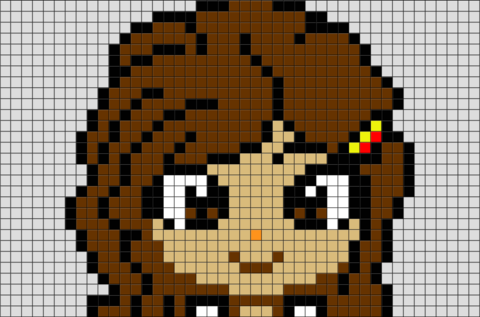 Harry Potter Hermione Granger Pixel Art Pixel Art Harry