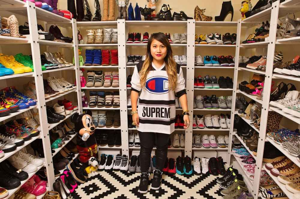 A Few Weeks Ago The Good Peeps At Stopped By My Sneaker Closet To Shoot It For Feature On Sneakerheads