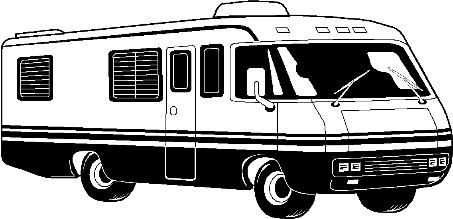 Cartoon Rv Motorhome Clip Clipart With Images Motorhome