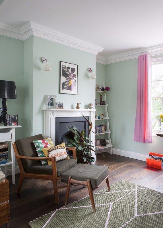 inspiring spacious living room green   Get Inspired With Stylish Mint Living Rooms   Living room ...