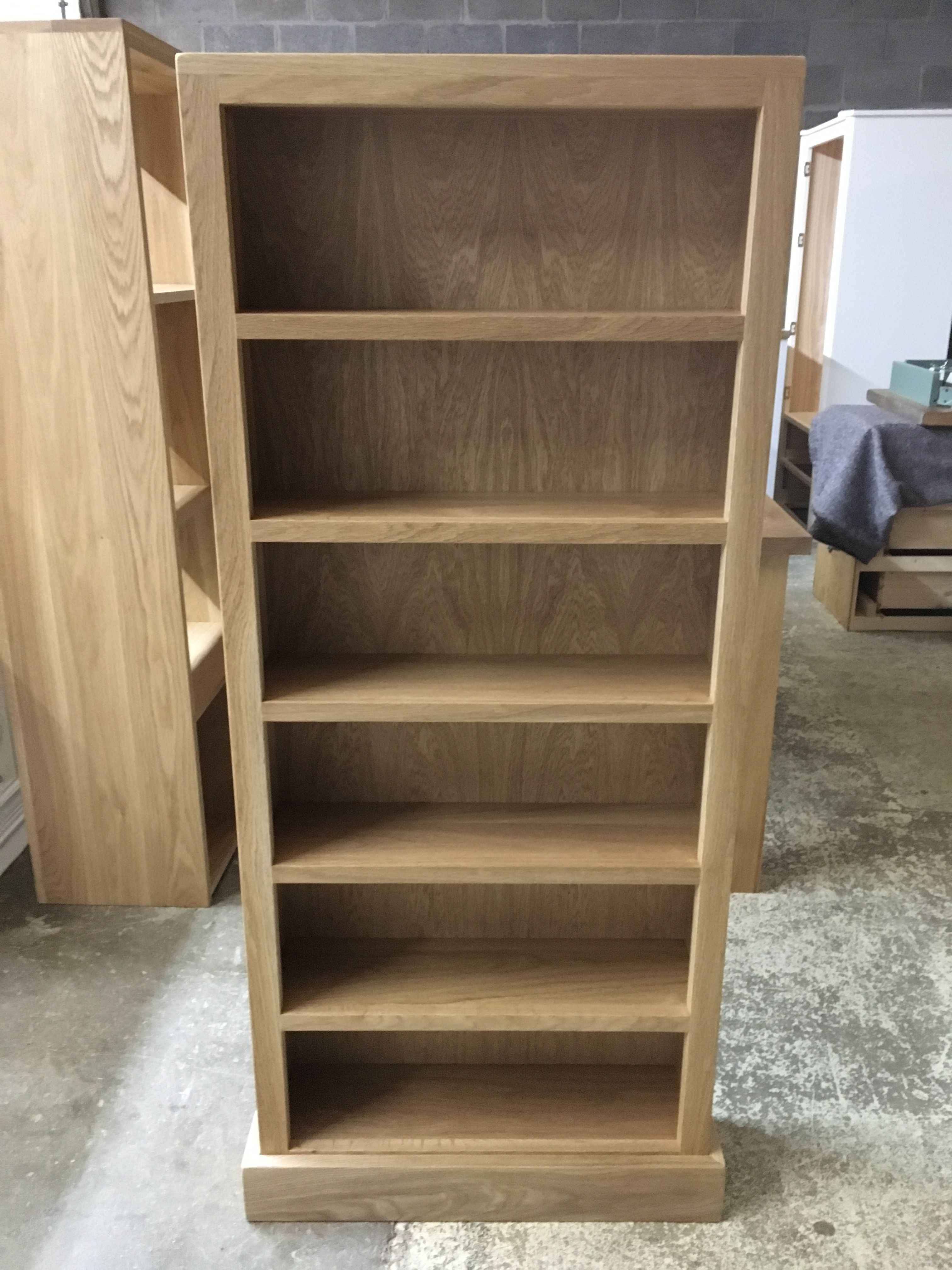 Superb Oak CD/DVD Bookcase. CAN BE MADE ANY SIZE. Cobwebs Furniture Company.