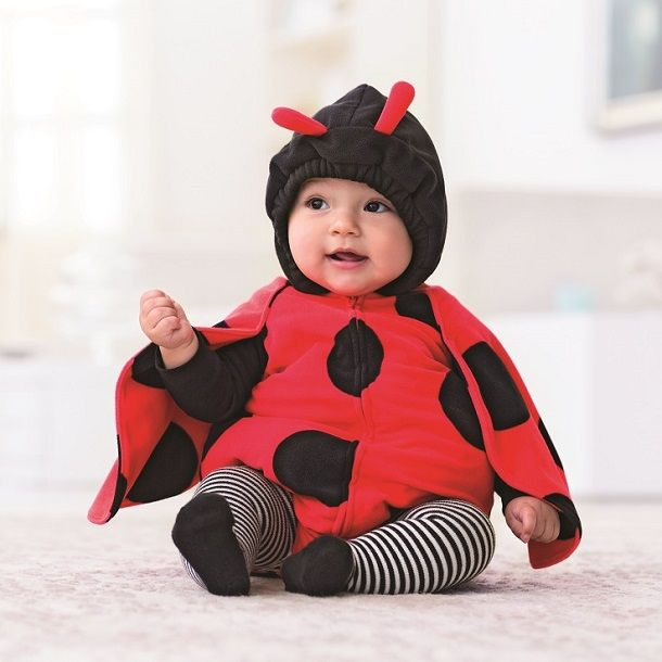 Dress up babyu0027s first Halloween in our favorite ladybug fleece bubble costume from Carteru0027s with matching long-sleeve tee. Striped tights complete the look.  sc 1 st  Pinterest & Dress up babyu0027s first Halloween in our favorite ladybug fleece ...