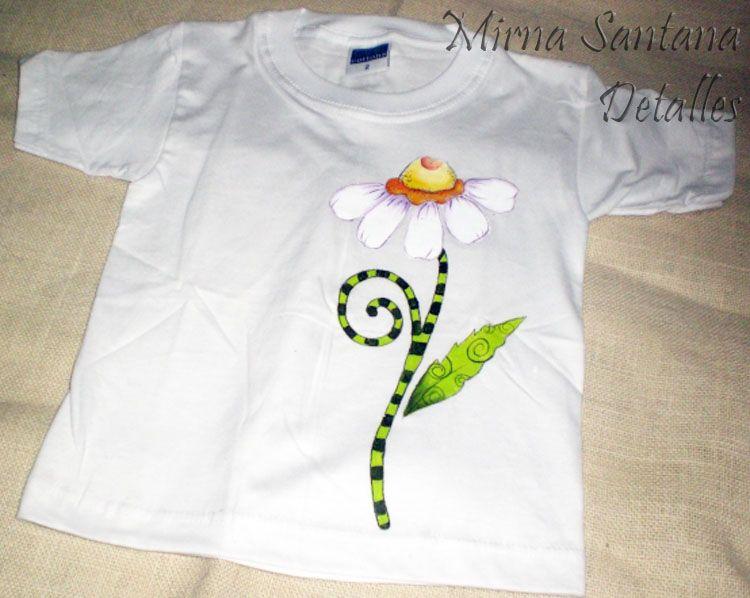 Camiseta tshirt pintado mano pintura en tela pinterest - Pintura para camisetas ...