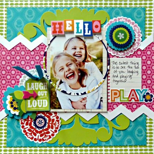 The Gabbie Collection - Scrapbook.com  Anna Griffin
