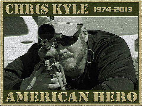 Chris Kyle....a true American hero.