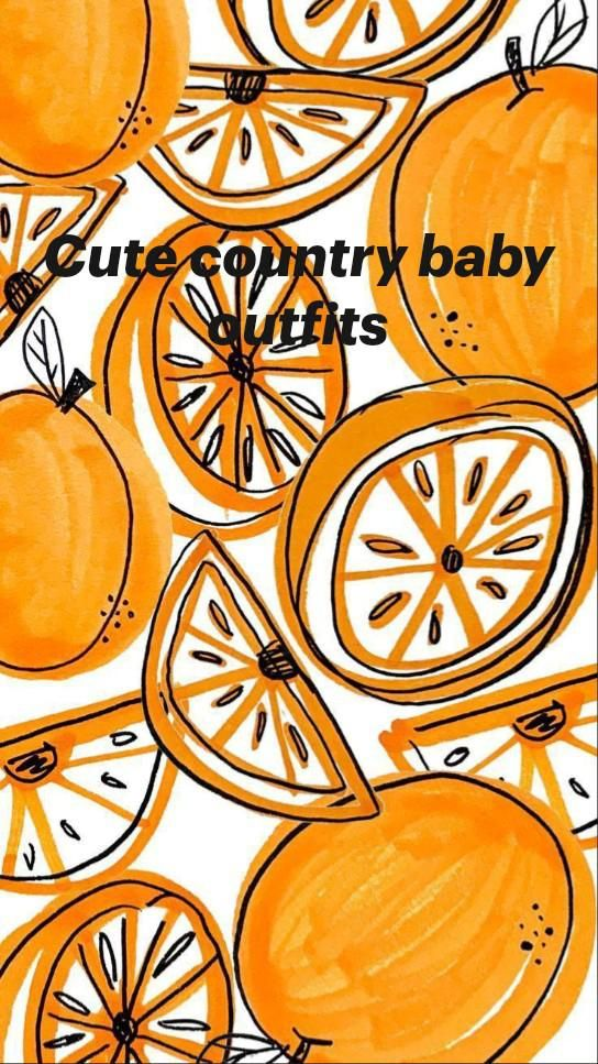 Cute country baby outfits