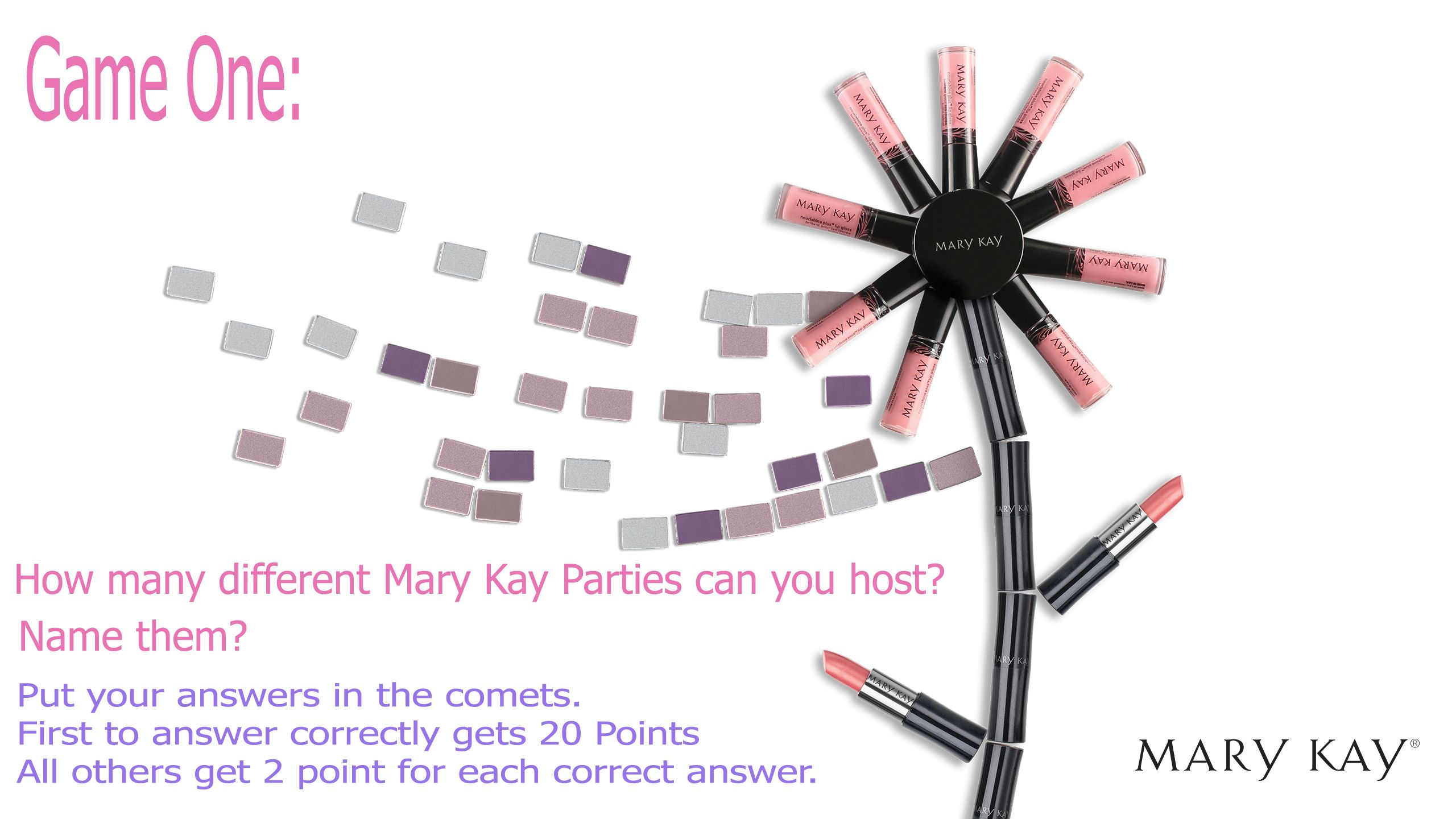 31+ Facebook party games for mary kay info
