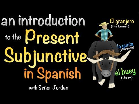 Introduction to the Present Subjunctive in Spanish - YouTube