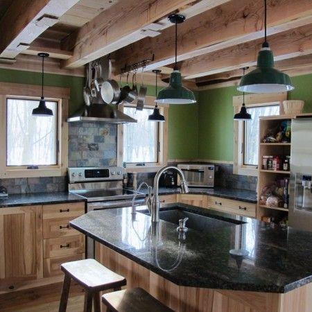 Modern Rustic Kitchen | ... rustic barn modern kitchen rustic modern kitchen modern kitchen rustic