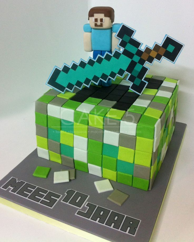 Decorating Ideas > Fondant Minecraft Steve  Google Search  Minecraft Cake  ~ 024119_Cake Decorating Ideas Minecraft