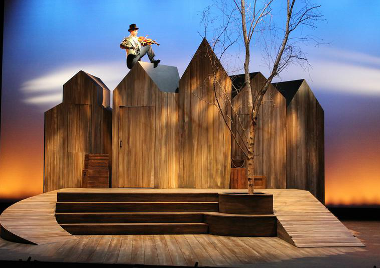 "Set The Mood For Everything: ""Fiddler On The Roof"" Set Design"