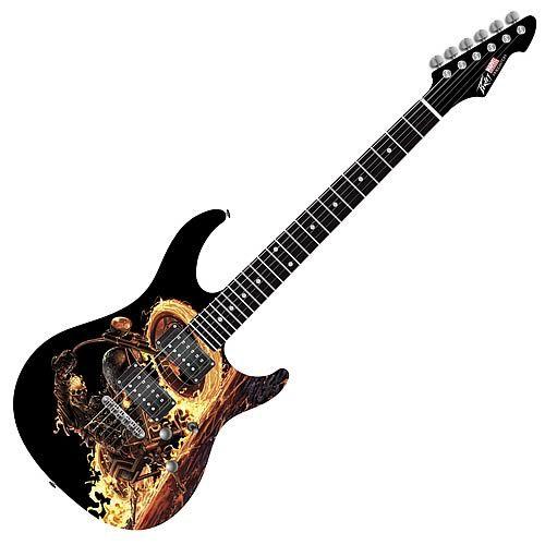 ghost rider predator plus exp electric guitar guitar guitar guitar art cool guitar. Black Bedroom Furniture Sets. Home Design Ideas