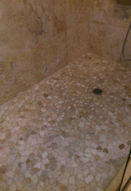Mixed Quartz Mosaic Tile | Bathroom | Pinterest | Tile showers ...