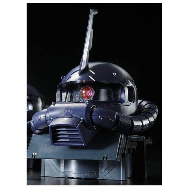 Mobile Suit Gundam MSV 1/35 Plastic Model : 1/35 MS-06R-1A Zaku Head ( – HYPETOKYO