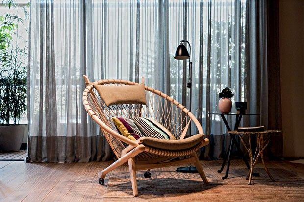 Detalhe do ambiente premiado com o Andrew Martin Design Awards em 2011, design Fabio Galeazzo
