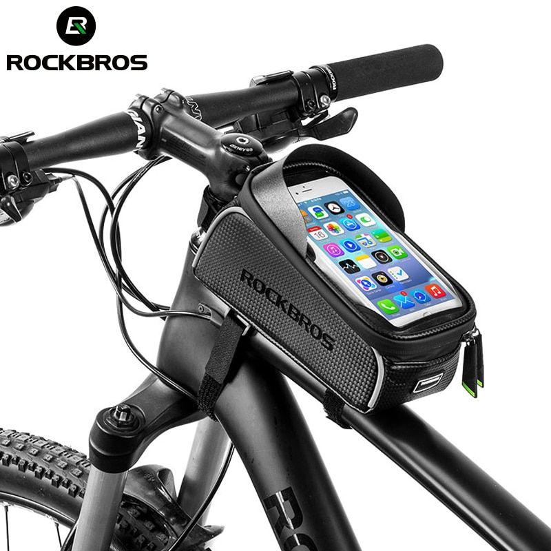 Rockbros Mtb Road Bike Bicycle Bags Waterproof Touch Screen