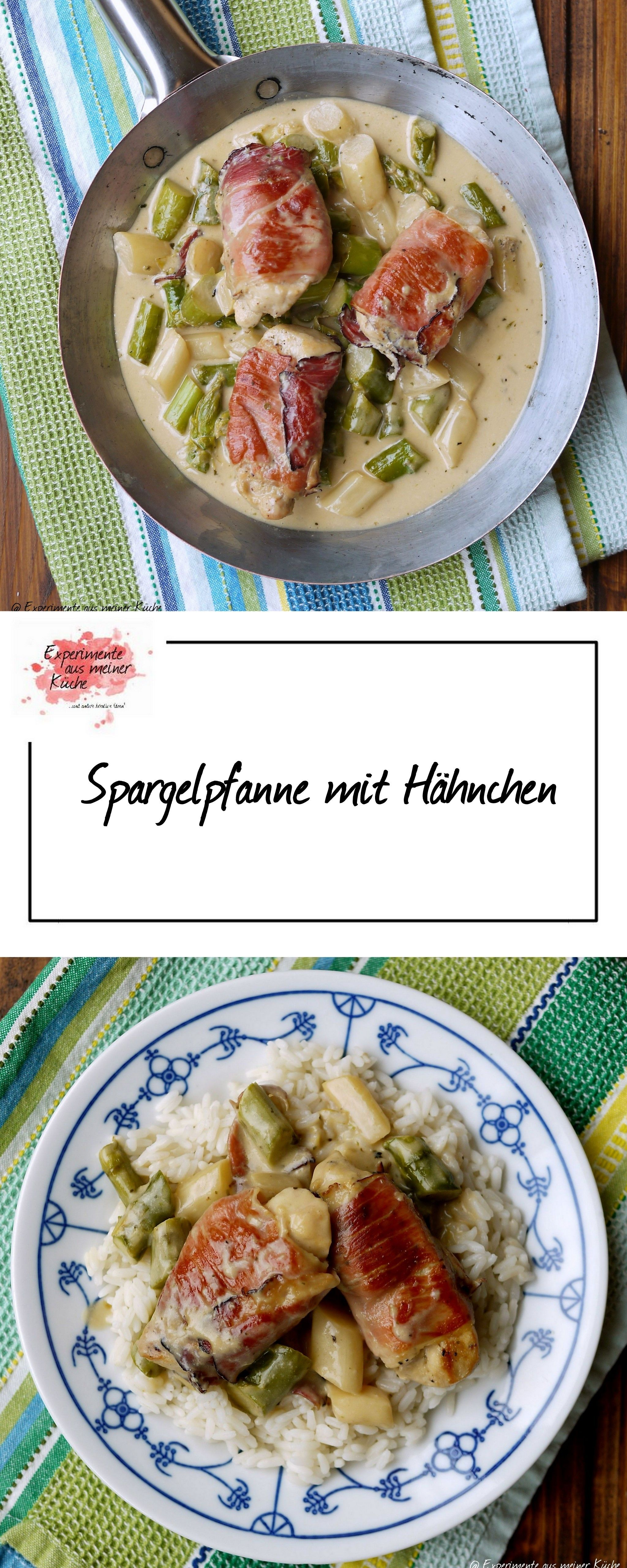 Spargelpfanne mit Hähnchen | Low carb, Food and Fitness foods