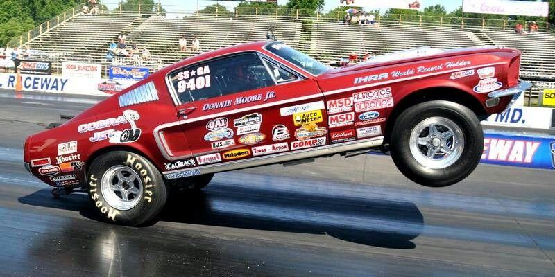 Super Stock 68 1 2 428 Cobra Jet Mustang Ford Racing Mustang Drag Racing Cars