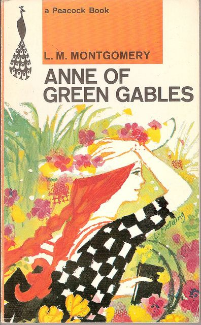 Anne Of Green Gables Peacock Book Cover With Images Anne Of