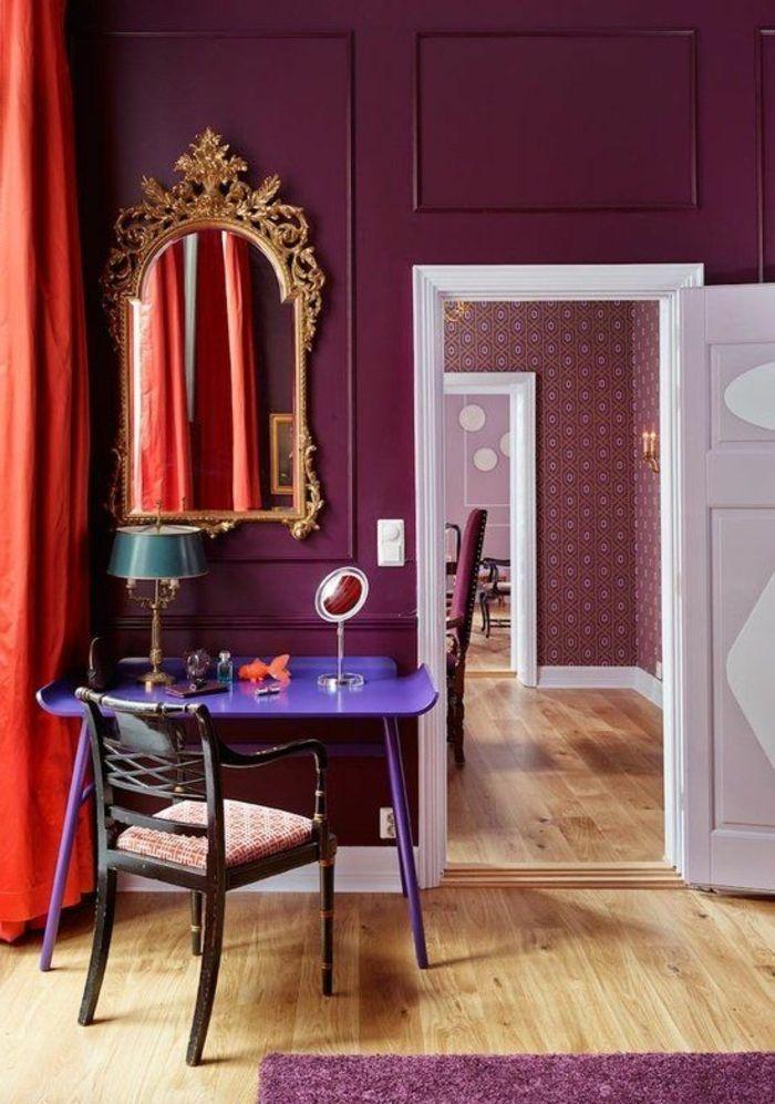 ▷ 1001 + idées comment combiner la couleur aubergine - comment peindre une chaise