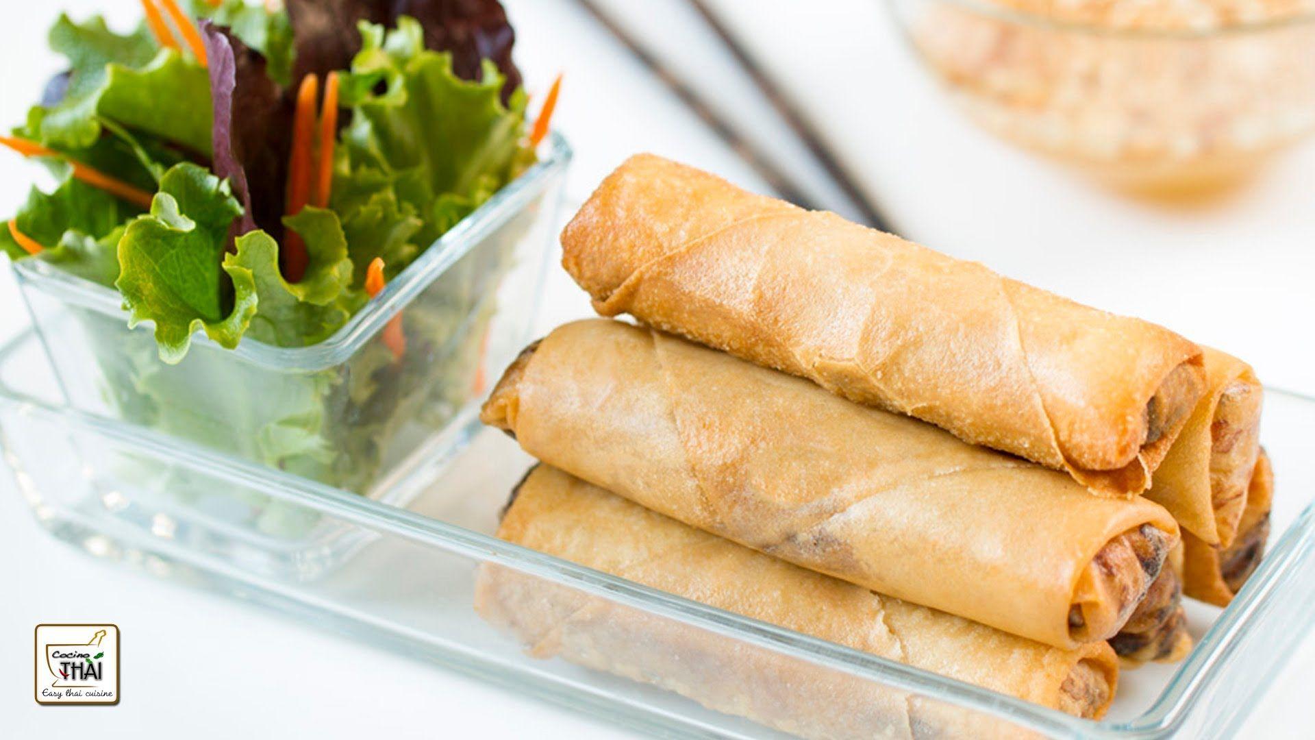 Como hacer rollitos de primavera estilo thai con salsa agridulce de como hacer rollitos de primavera estilo thai con salsa agridulce de cacahuetes forumfinder Choice Image