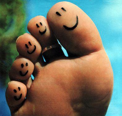 Happy Feet & Toes | Toe tattoos, Tattoos, Neck tattoo