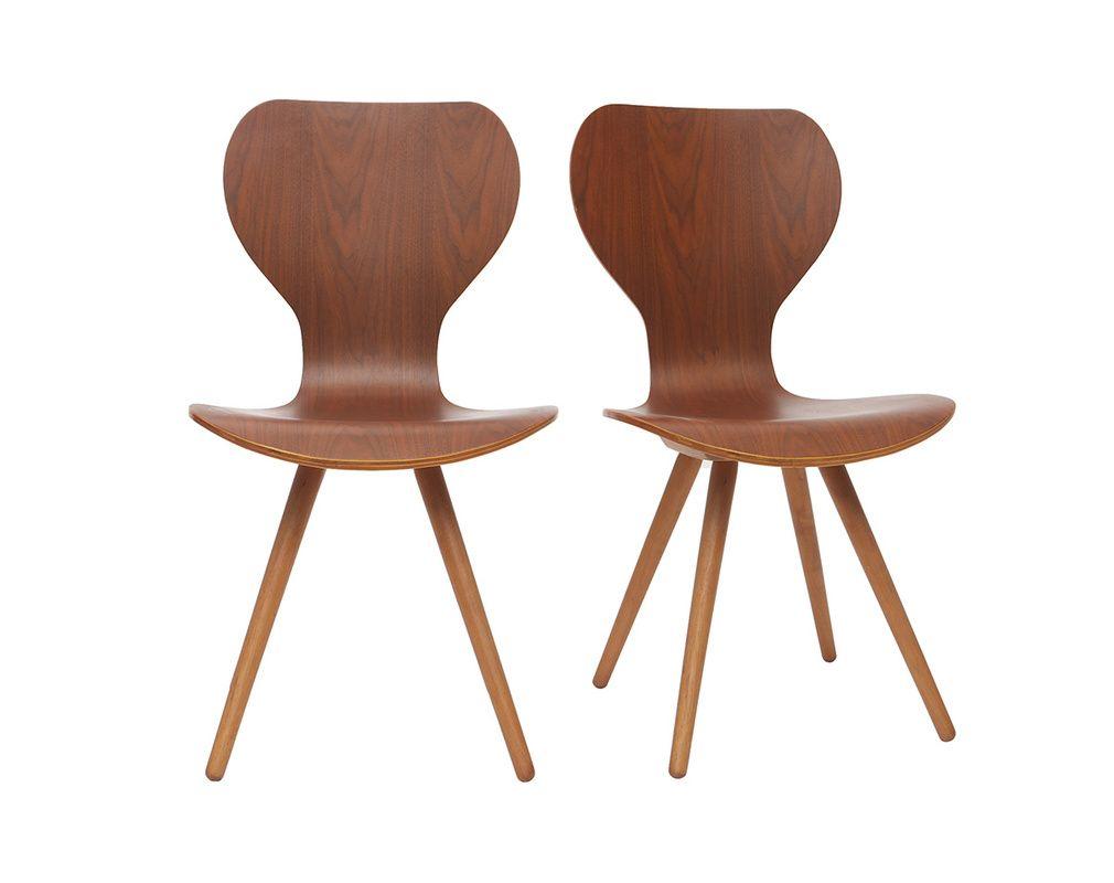 Chaises Design En Frene Lot De 2 Nordeco Miliboo In 2020 Esstisch Rund Ausziehbar Sessel Skandinavisch Sofa Skandinavisches Design