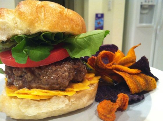 The cheesebuger: my wintertime happy meal.