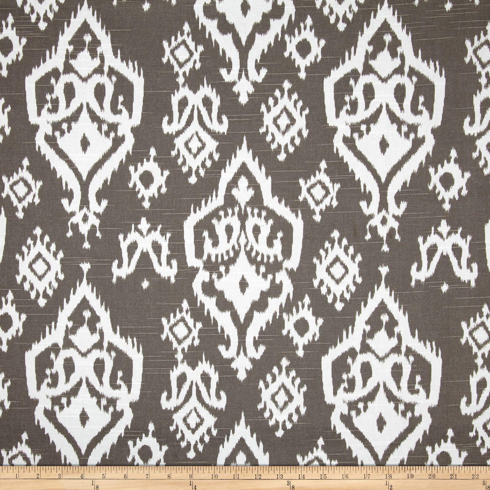 Premier Prints Raji Slub Spirit Brown Fabric