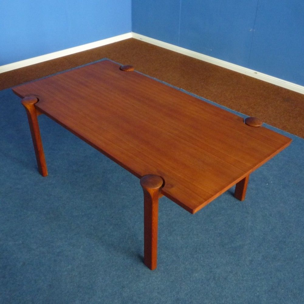 Teak Coffee Table By Arne Vodder For Cado Denmark 1960s Soffbord