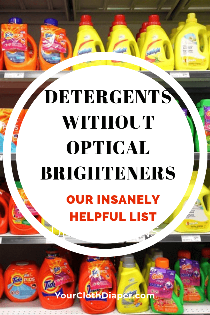 Laundry Detergents Without Optical Brighteners Our Insanely