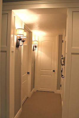 Hallway - sconces! & Hallway - sconces! | Hallways | Pinterest | Hallway sconces ...