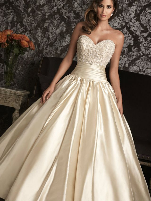 White and gold wedding gowng 640854 a walk down the aisle white and gold wedding gown junglespirit Images