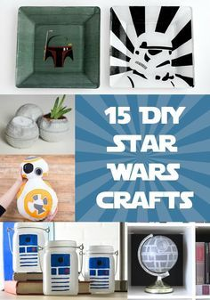 15 Diy Star Wars Projects You Ll Love Star Wars Diy Crafts Star Wars Diy Star Wars Room