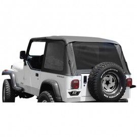 Rampage Trail Top With Tinted Windows Frameless Soft Top Kit With