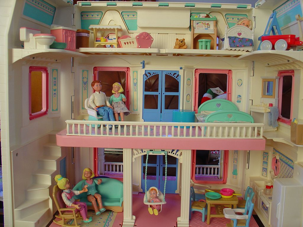 Fisher Price Doll House Furniture Bedroom Furniture