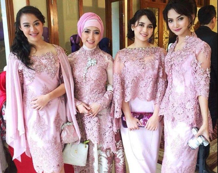 Baju Kebaya Warna Pink Model Baju Terbaru 2019