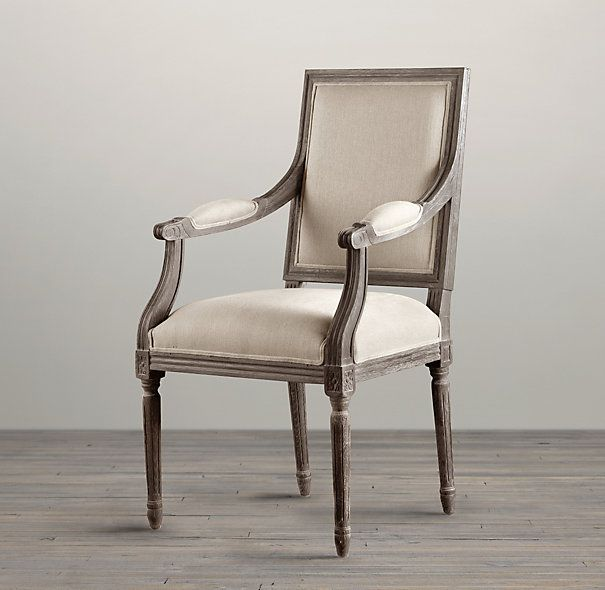 vintage french square upholstered armchair i have these. Black Bedroom Furniture Sets. Home Design Ideas