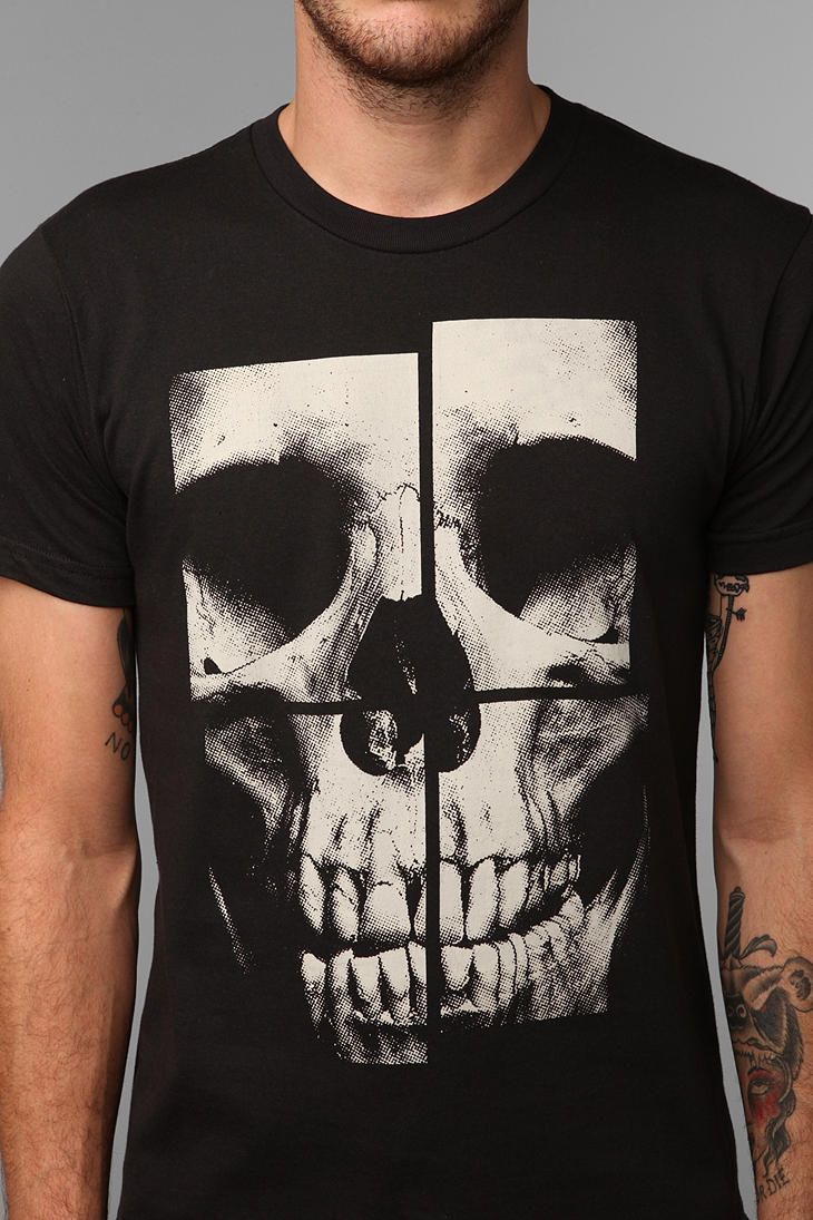 Camisas Estampadas Con CalaveraSerigrafia Remera CamisetasRopa Y uJT1c35lFK
