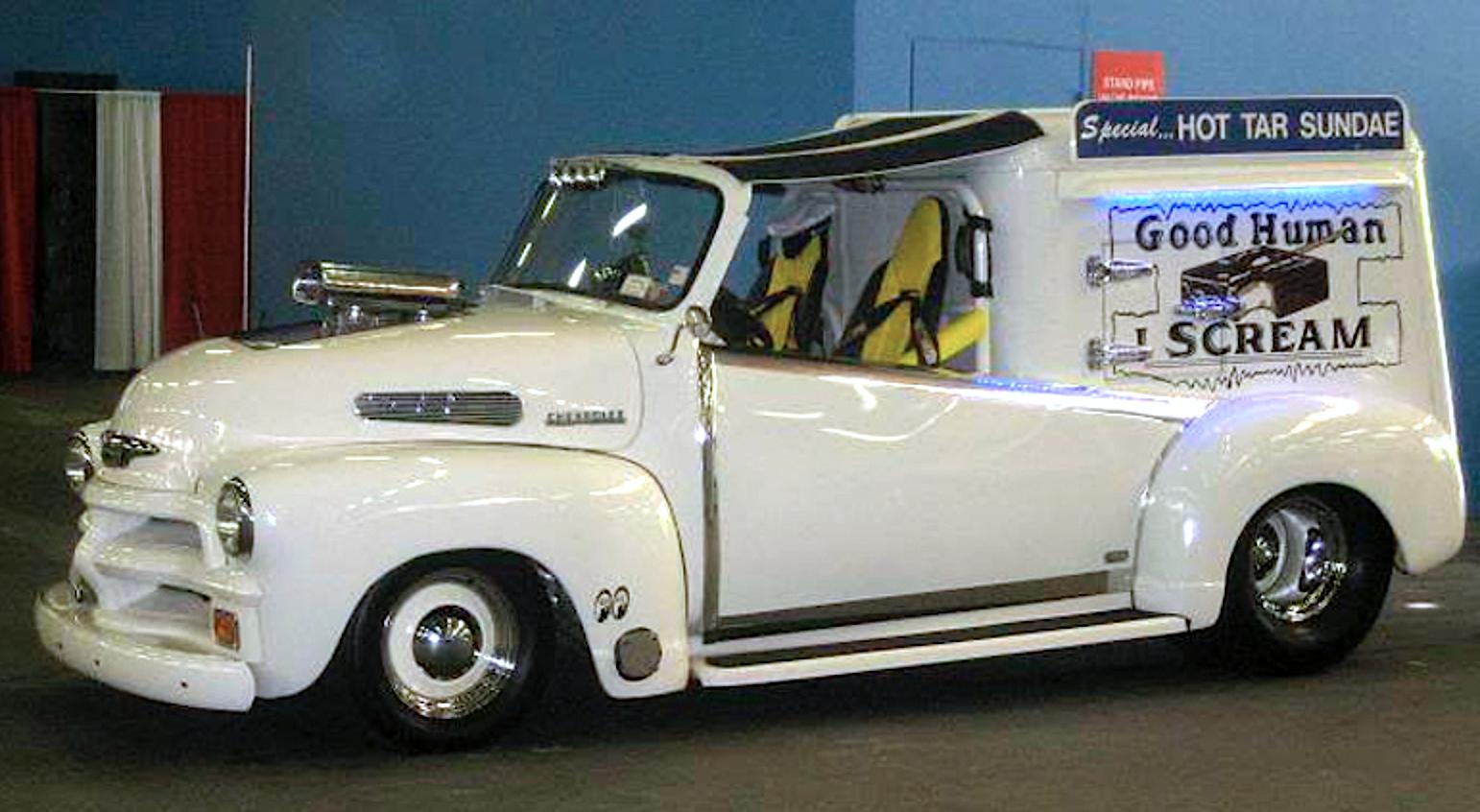 1951 Chevy 3100 Hot Rod Ice Cream Truck Vintage Ice Cream Ice Cream Truck Good Humor Ice Cream