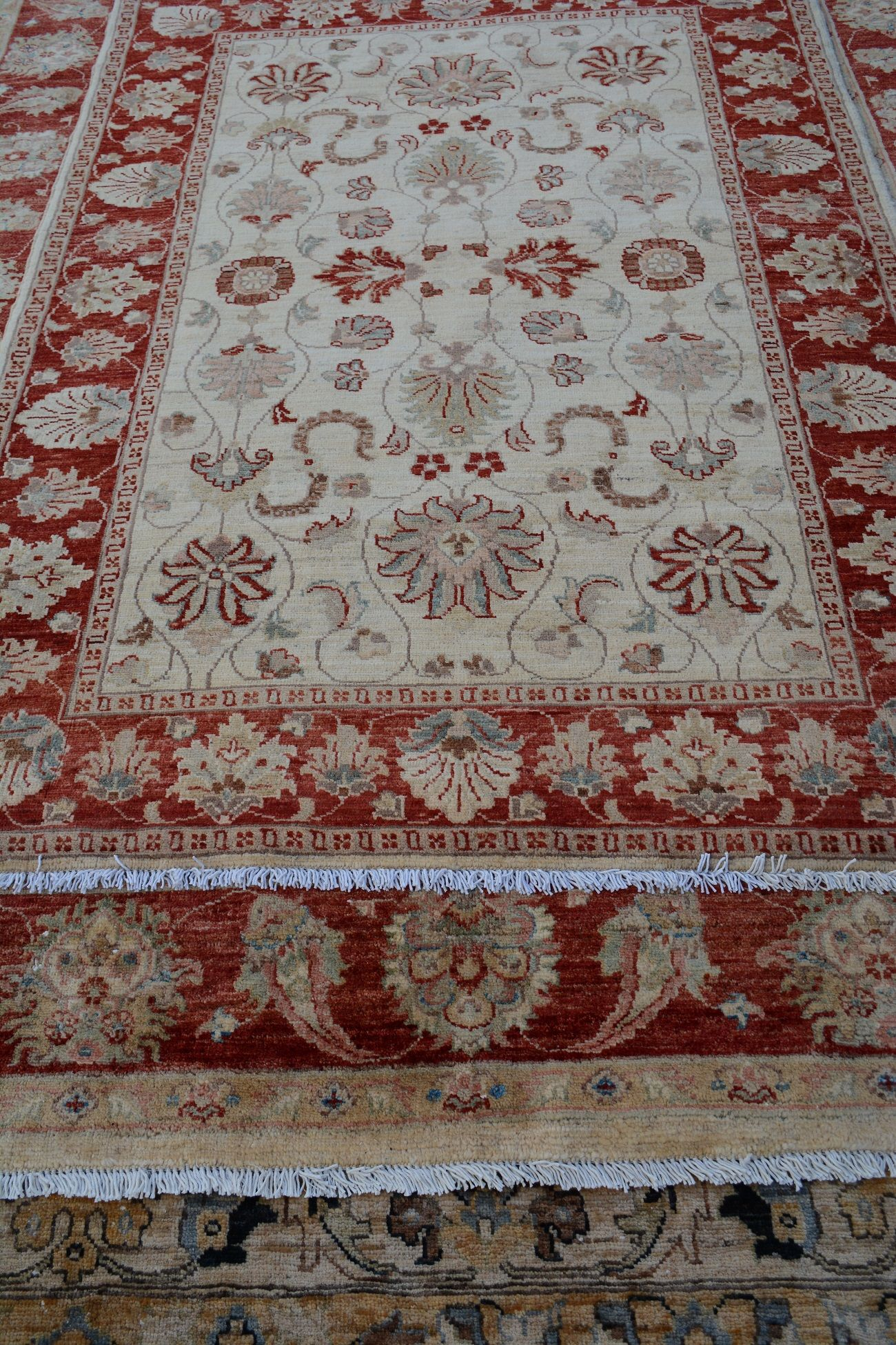 These Elegant Ziegler Design Chobi Or Chobrang Carpets Which Mean In Farsi Tree Like Are The Same Quality As Oushak Turkish Ca Rugs Handmade Rugs Afghan Rugs