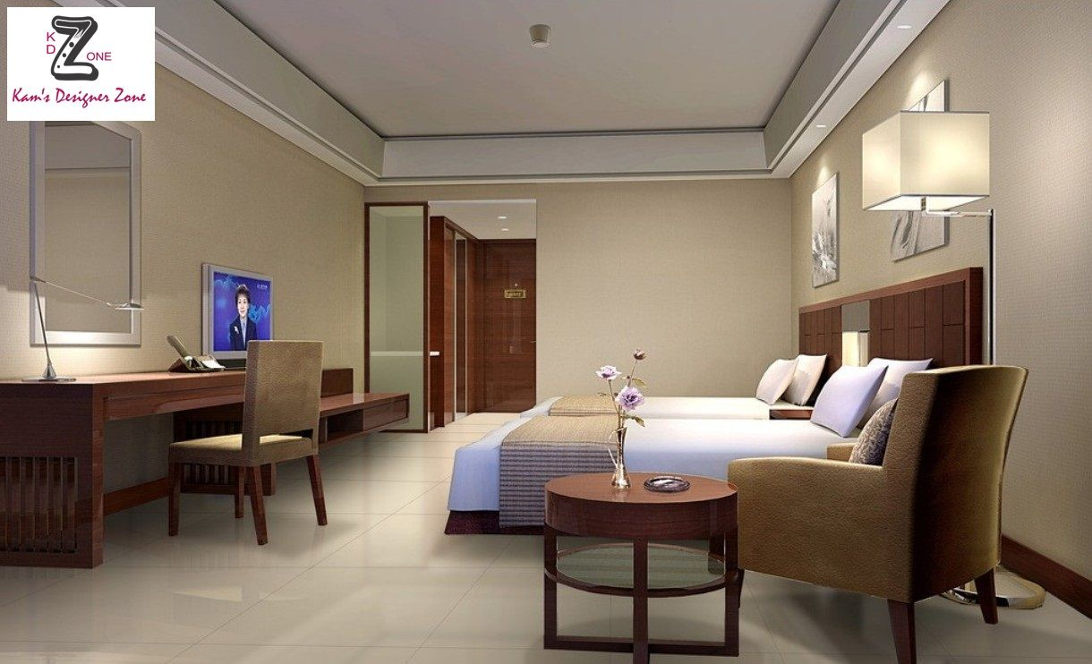 Interior decoration of a modern hotel 41