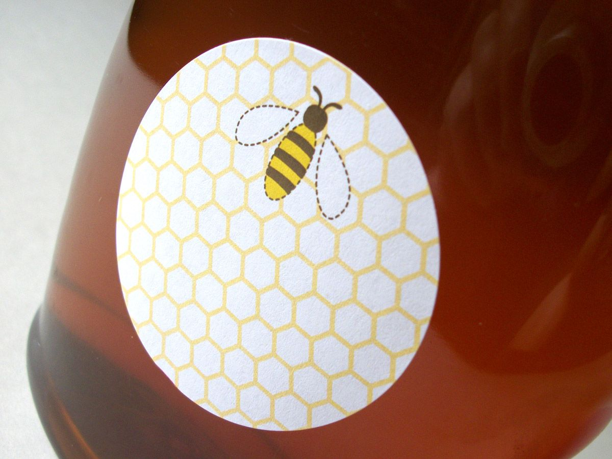 Colorful Adhesive Canning Jar Labels: Lots of new canning jar ...