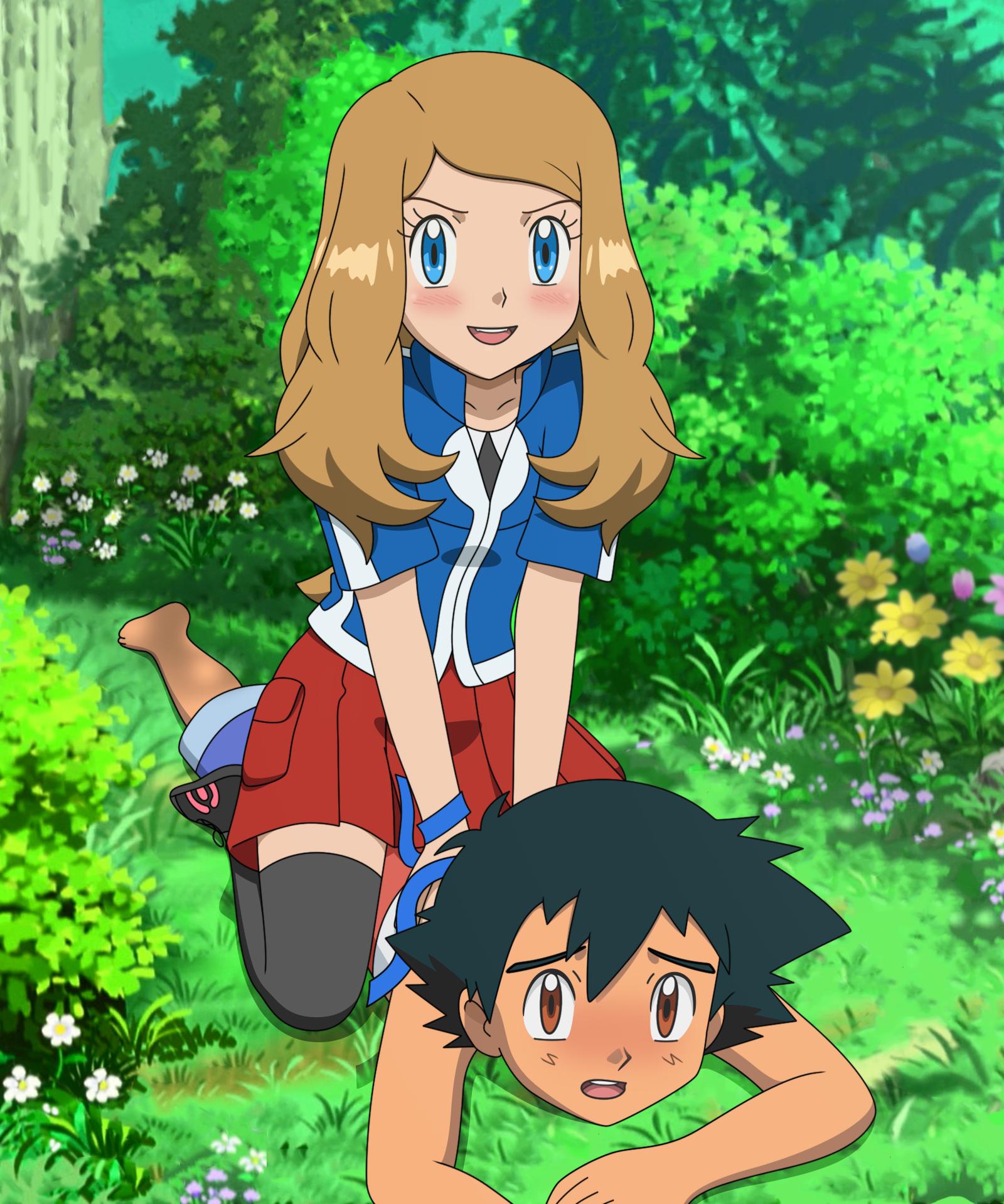 Ash & Serena | Pokemon ash and serena, Pokemon pictures