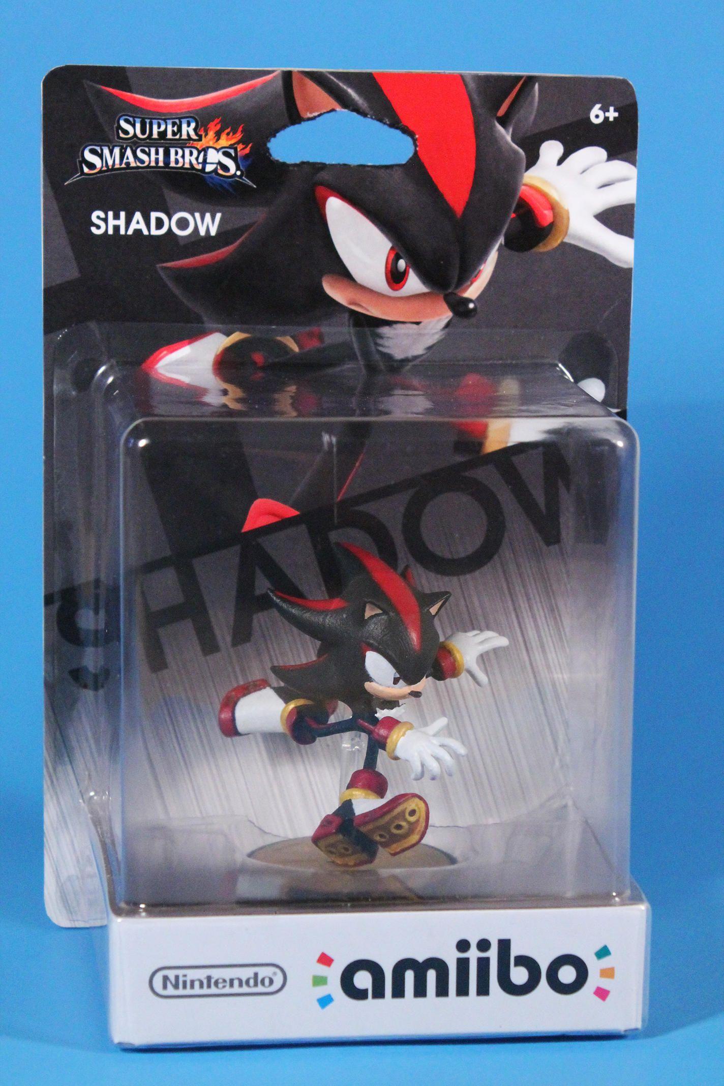 Custom Shadow Amiibo Box Art Amiibo Amiibo Shadow The Hedgehog Sonic And Shadow
