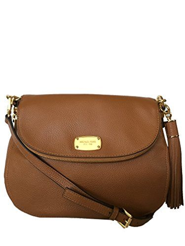Michael Kors Bedford Medium Tassel Crossbody Leather Bag ... http://www