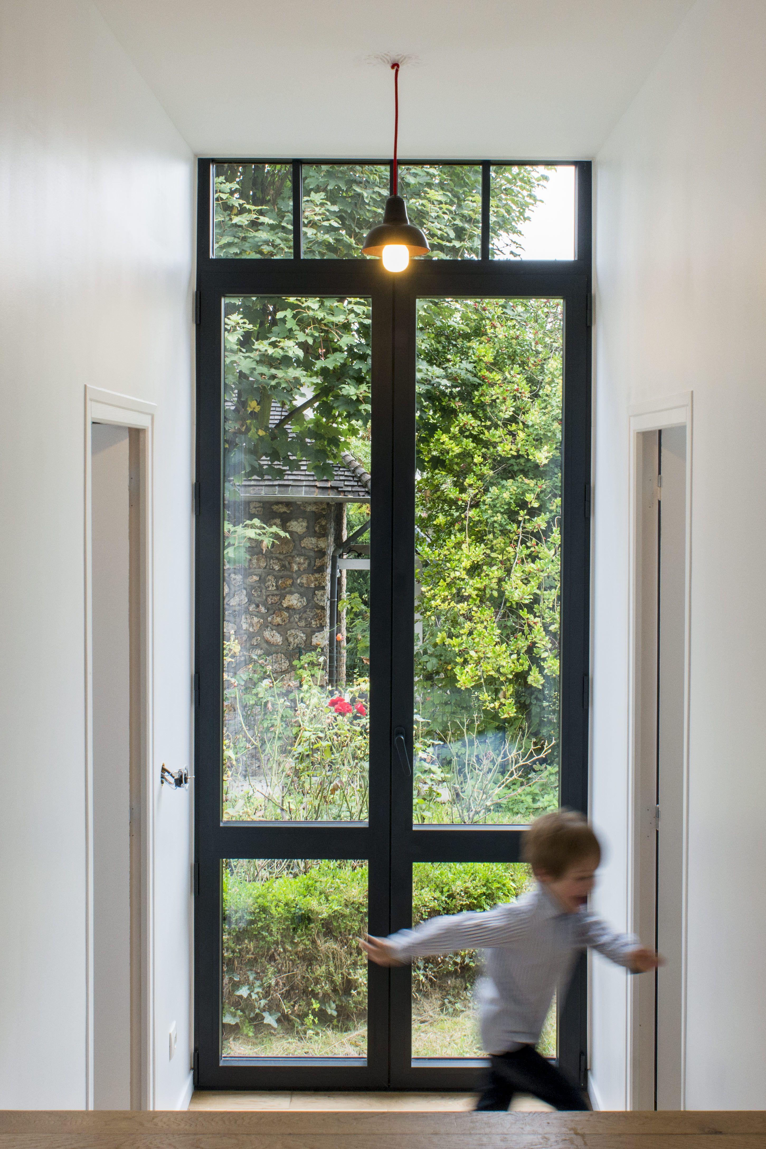 Renovatieproject Versailles Zwartgrijs Aluminium Raam Openslaande Deuren Ramen Interieurarchitectuur