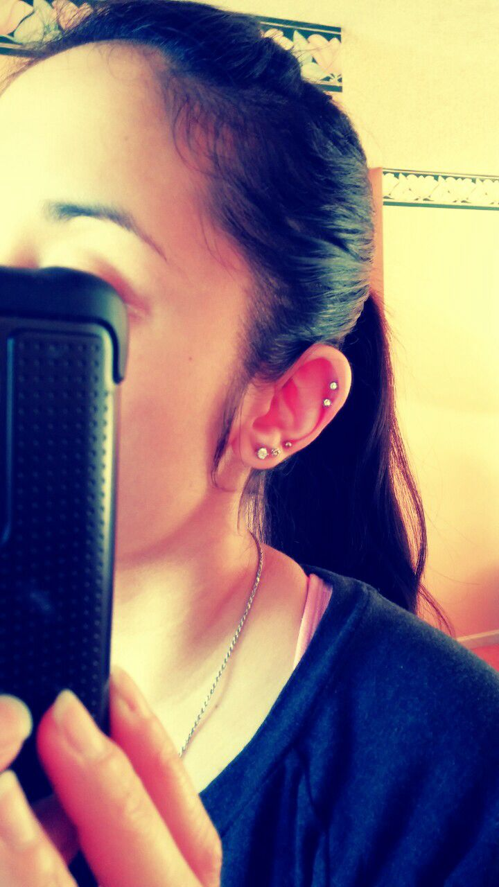 Nose piercing position  Cartilage and lobe piercings  Ear piercings I like