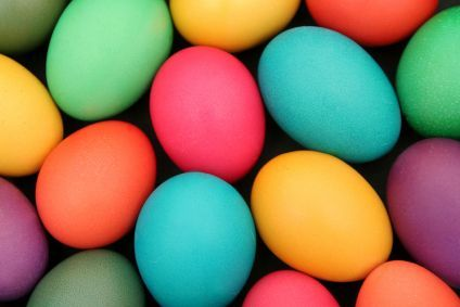 The Best Way to Color Easter Eggs using food coloring. No more dye ...