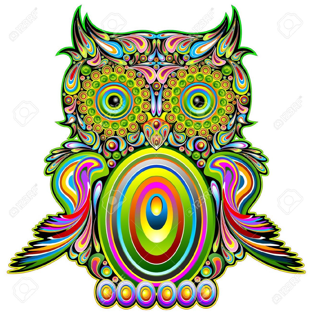 owl stock vector illustration and royalty free owl clipart tattoos rh pinterest co uk Free Mountain Vector Free Vector Flowers